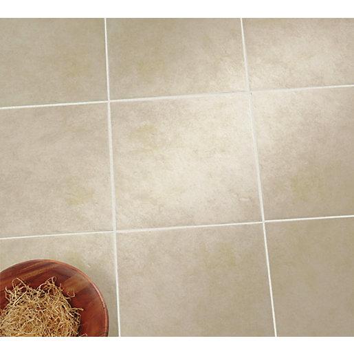 wickes urban beige ceramic wall floor tile 330 x 330mm