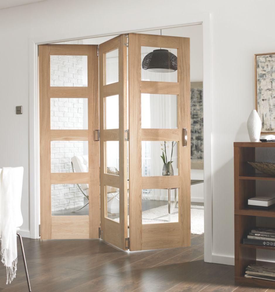 JeldWen Divider Glazed 3Door Interior Room Divider