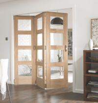 Jeld-Wen Divider Glazed 3-Door Interior Room Divider ...