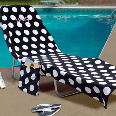 beach chair cover walmart outdoor rocking bridesmaid gift idea lounge covers shop girl daily