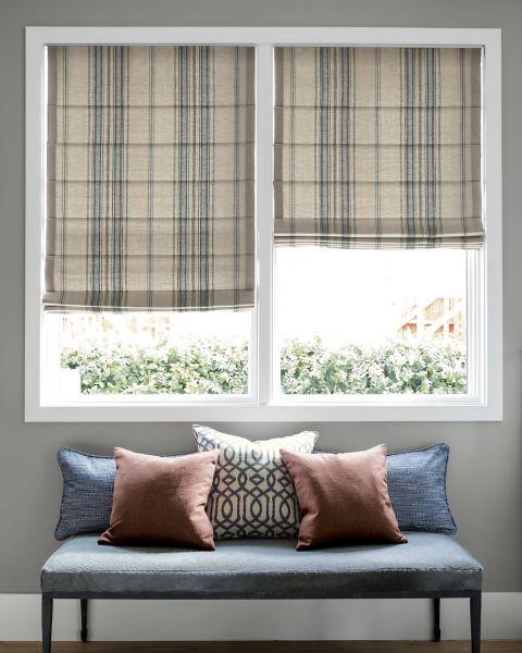 Classic Roman Fabric Shades
