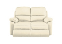 leona 3 seater recliner sofa sure fit stretch stripe 2 piece t slipcover sand with recliners