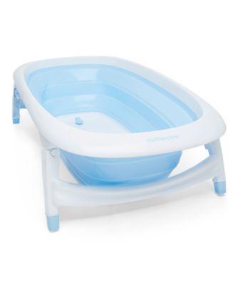 baby bath chair mothercare mid century modern arm foldable baths blue