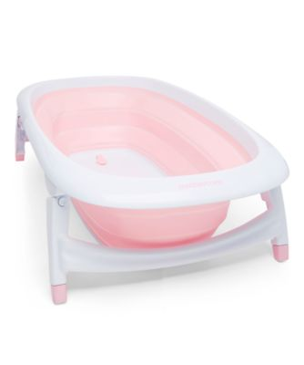 baby bath chair mothercare hammock stand baths foldable pink