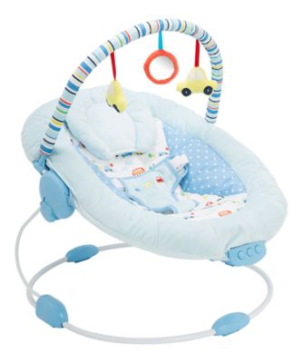 baby sleeping chair folding racks bouncers rockers mothercare on the road bouncer