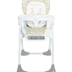 Mothercare Travel High Chair Booster Seat Fabric For Office Upholstery Chevron Highchair Highchairs