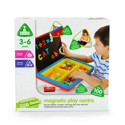 Elc Magnetic Playcentre Red Educational Toys Mothercare