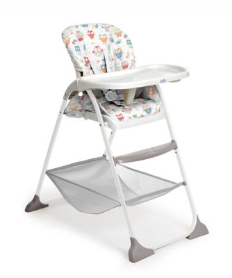 Owl High Chair Joie Mimzy Snacker Highchair Owls Bluewater 50 00