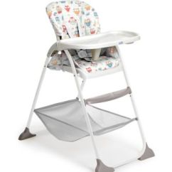Mothercare Travel High Chair Booster Seat Straight Back For Elderly Joie Mimzy Snacker Highchair Owls Bluewater 50 00