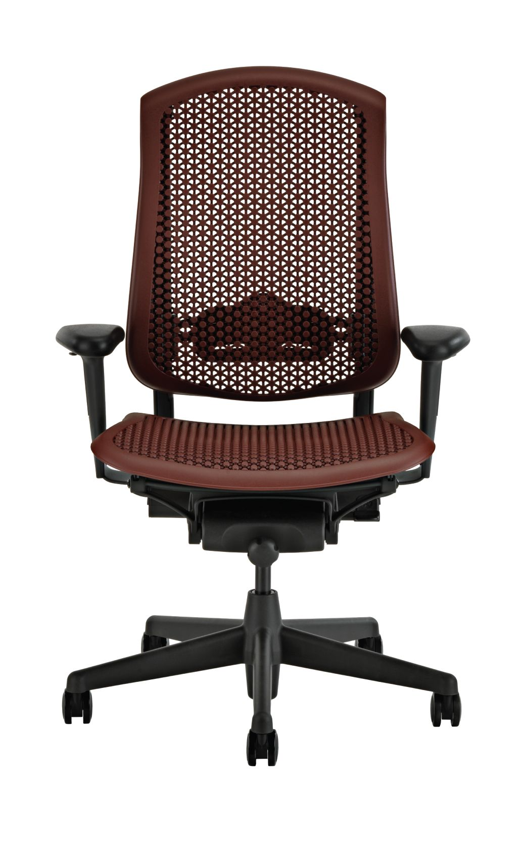 ergonomic chair miller oak rocking herman celle office cabernet review