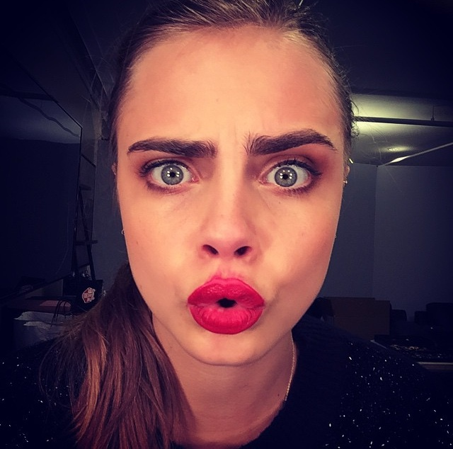 duck lips images on