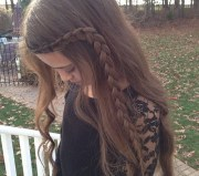 adorable clothes curled hair