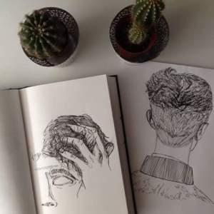 grunge drawing cactus indie aesthetic drawings dark favim journal outfit summer friends sketchbook dibujos visitar pale ago illustration uploaded user
