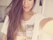 beautiful brown hair cute pretty