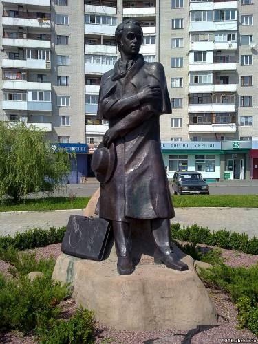 Новоград-Волинський. Пам'ятник Т.Г.Шевченку
