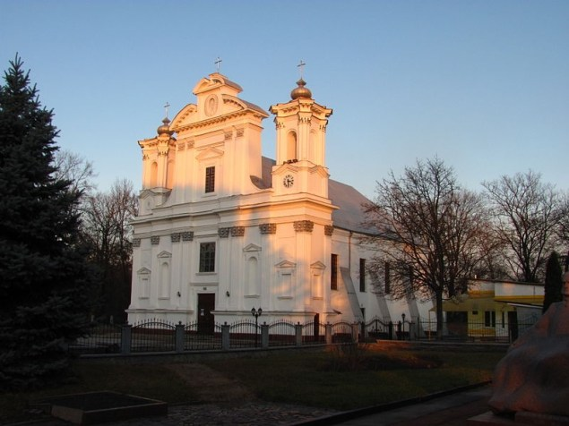 Коростишів. Костел Різдва Пресвятої Діви Марії