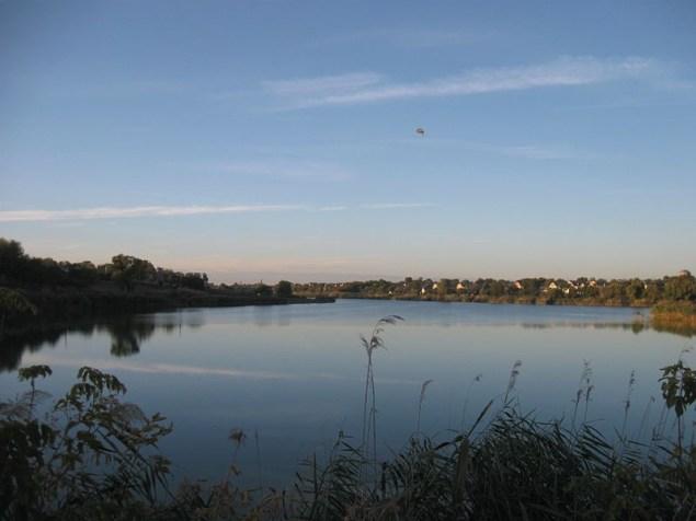ліва притока Дніпра річка Ірклій