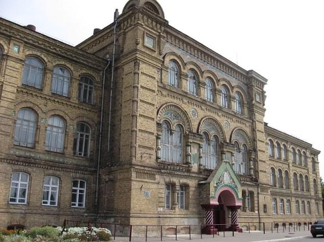 Лубни. Будинок жіночого єпархіального училища