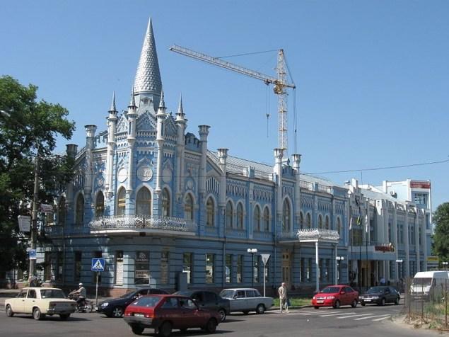 Черкаси. Будинок колишнього готелю «Слов'янський»