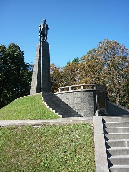 Канів. Могила Т. Г. Шевченка з пам'ятником Великому Кобзареві