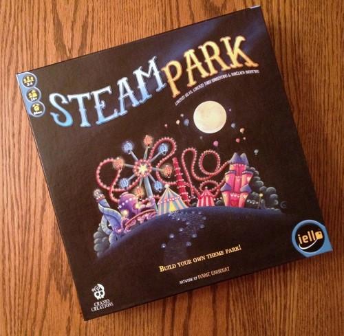 Steam Park box cover