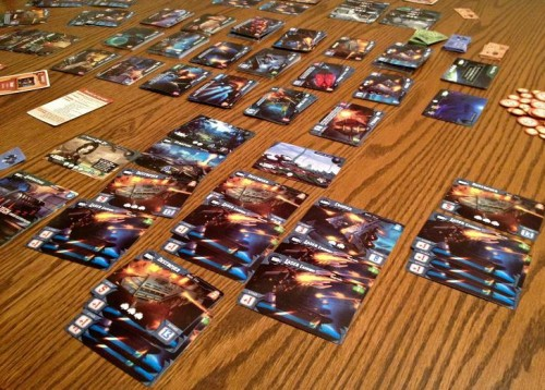 Like space, this games expands across the table rapidly!
