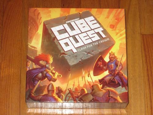 Cube Quest box