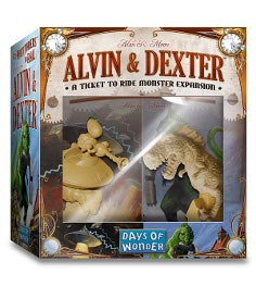 """When I play ticket to ride I always think """"man I wish there was a dinosaur in this game"""""""