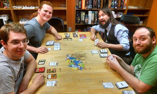 Here's a photo of Wrath of Cosmos in prototype form because this article needs more pictures
