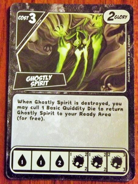 Quarriors! Ghost Card