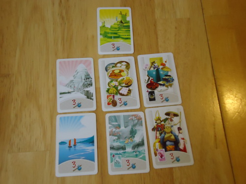 Tokaido Achievement Cards