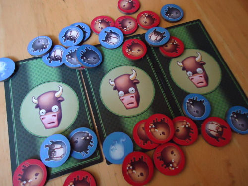 Snapgammon Cow Tokens