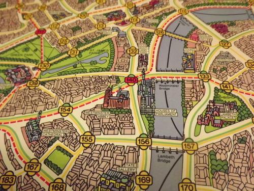 Scotland Yard Map