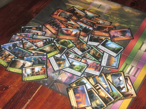 Temporum comes with 40 different zone cards, ensuring that each game is different from the last.