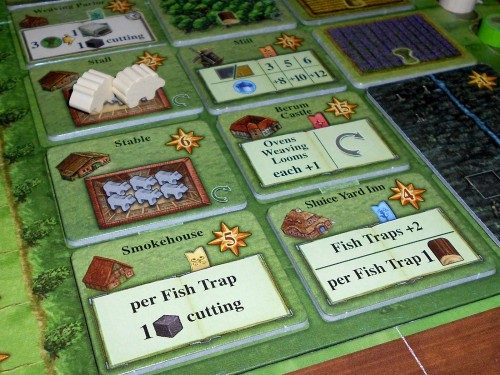 Fields of Arle - Buildings