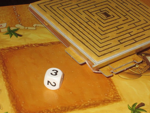 The dice pyramid makes the game. Seriously.