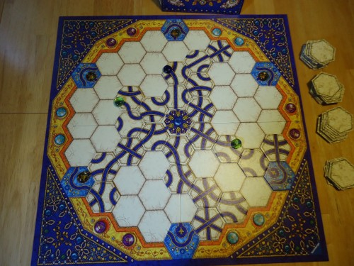 Indigo Game In Progress