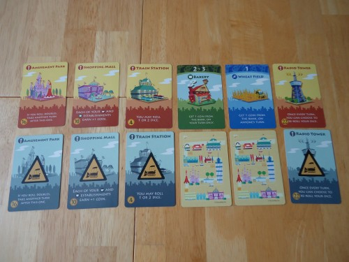 Machi Koro - Starting Cards