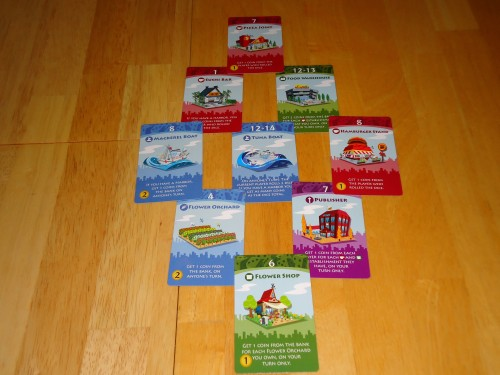 Machi Koro Harbor - Cards