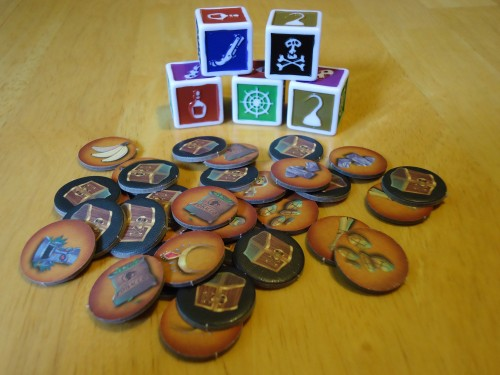 Dark Seas - Treasure Tokens