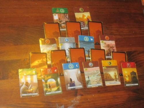 The Age I pyramid. So many choices.
