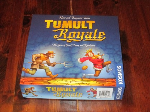 Tumult Royale box
