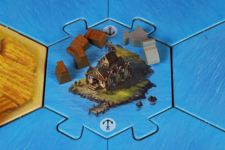 The Council of Catan will gladly pay you in points for your fish and spice