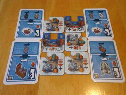 Antarctica Buildings and Cards