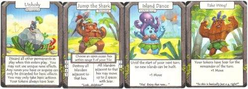 Rune cards are central to this design...and a lot of fun, too!