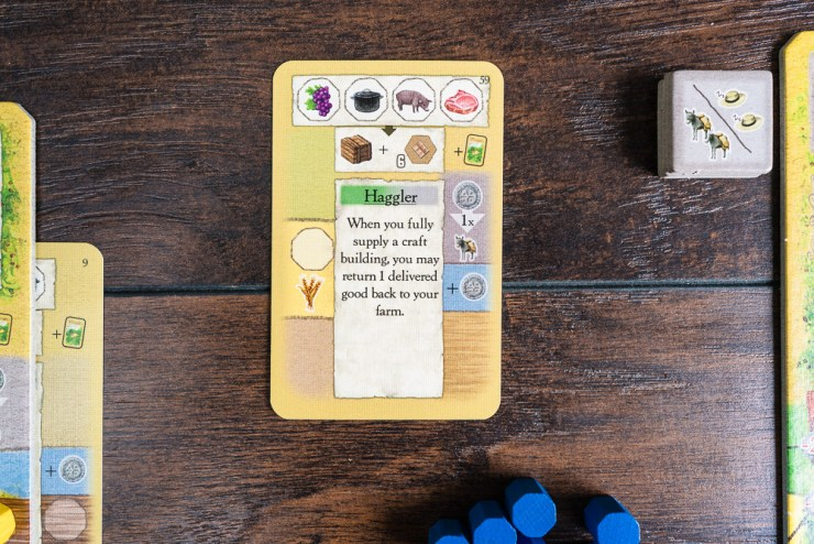 The multi-use cards are the heart and soul of La Granja.