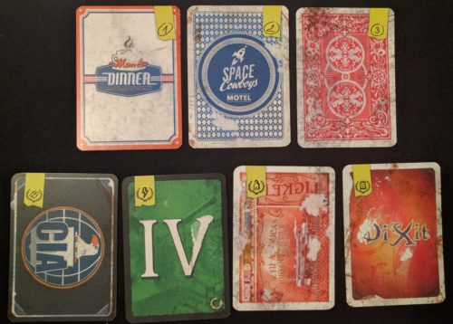 Meta-gaming from the box art to the card backs.