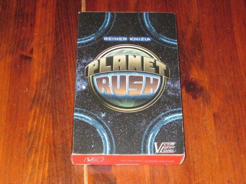 Planet Rush box