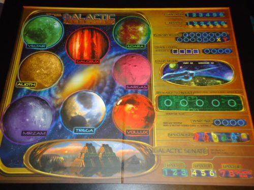 Galactic Rebellion Board