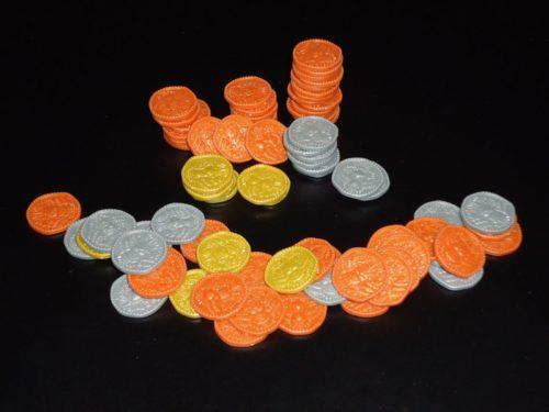 Histrio: Coins